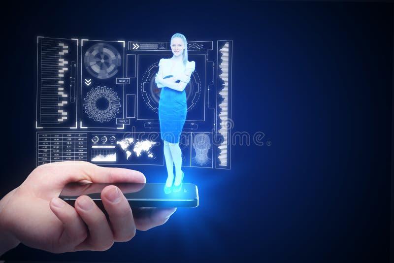 Innovatie en communicatie concept stock afbeelding