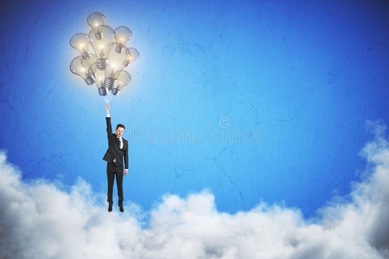 Innovatie en succesconcept stock afbeeldingen