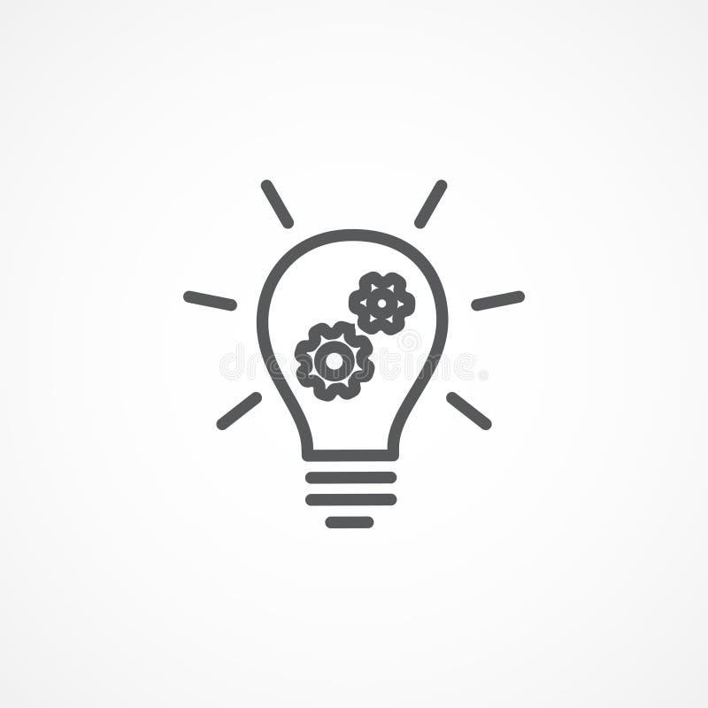 Innovatiepictogram royalty-vrije illustratie
