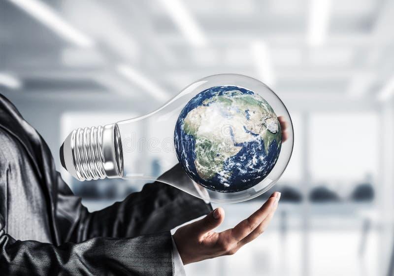 Innovaties voor het concept van de wereldbescherming royalty-vrije stock afbeelding
