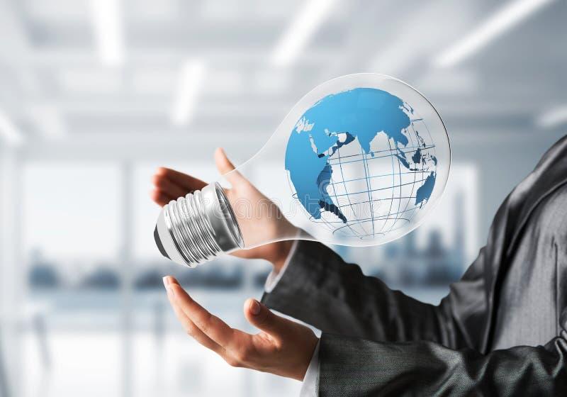 Innovaties voor het concept van de wereldbescherming royalty-vrije stock foto