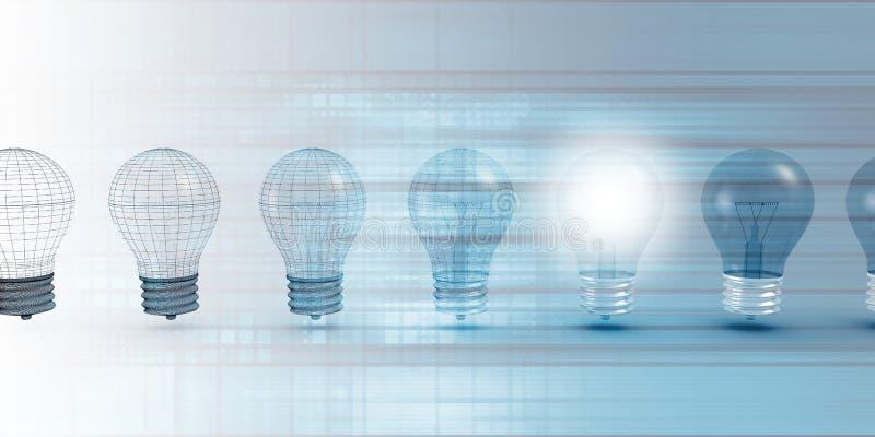 Innovatietechnologie vector illustratie