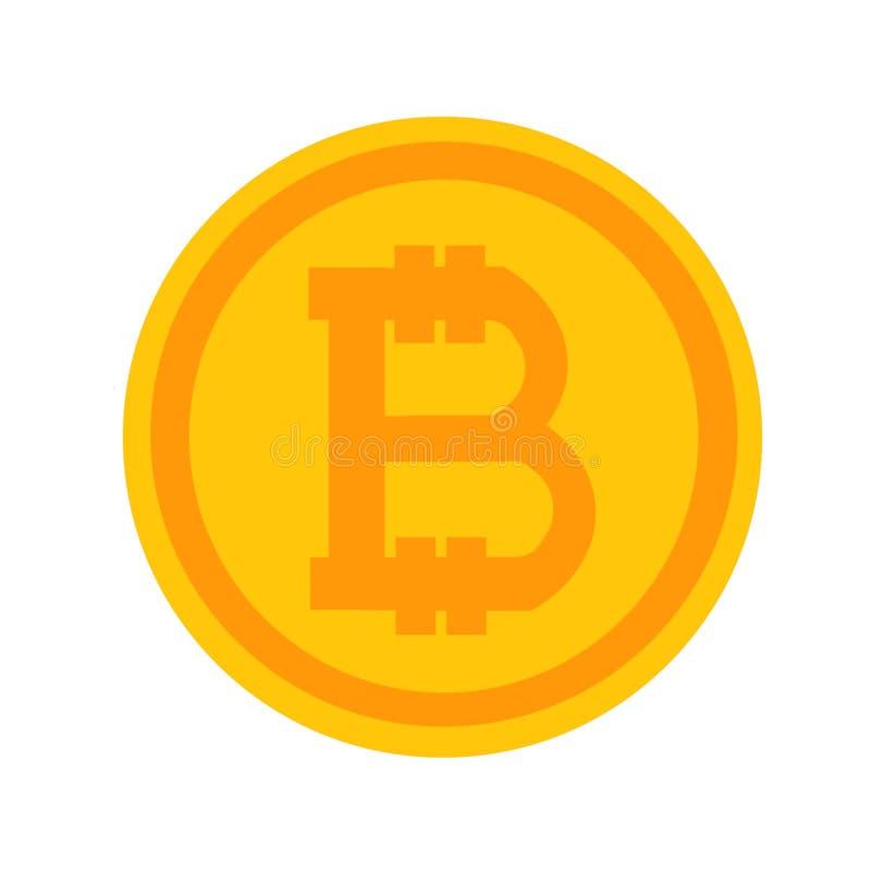 Innovatieve cryptografiemunt Crypto munt stock illustratie