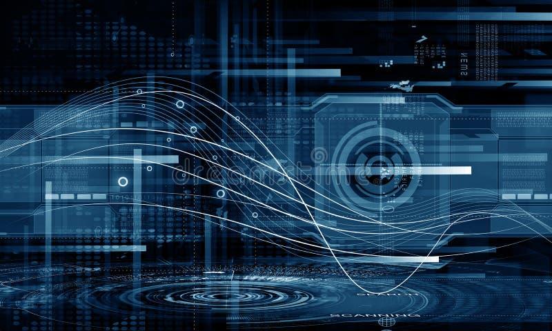 Innovatieve technologieën stock illustratie