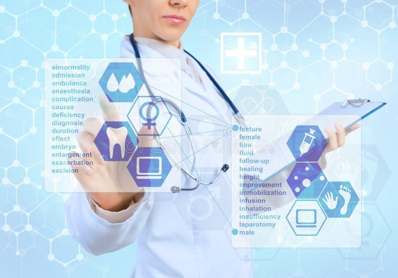 Innovatieve technologieën in geneeskunde royalty-vrije stock foto's