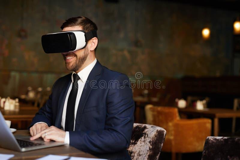 Innovatieve technologie voor bedrijfsoplossing stock foto