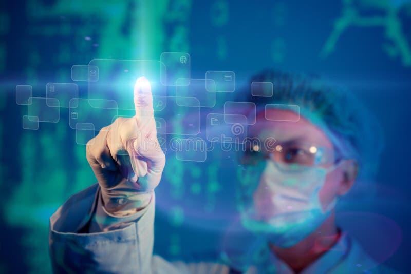 Innovation in der Wissenschaft stockfotografie