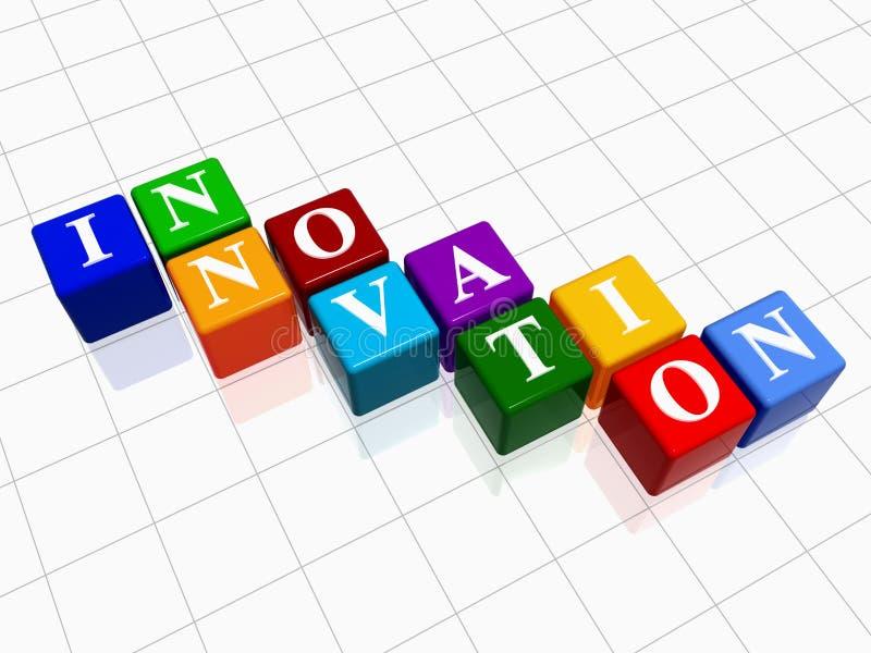 Innovation in Farbe 2 stock abbildung