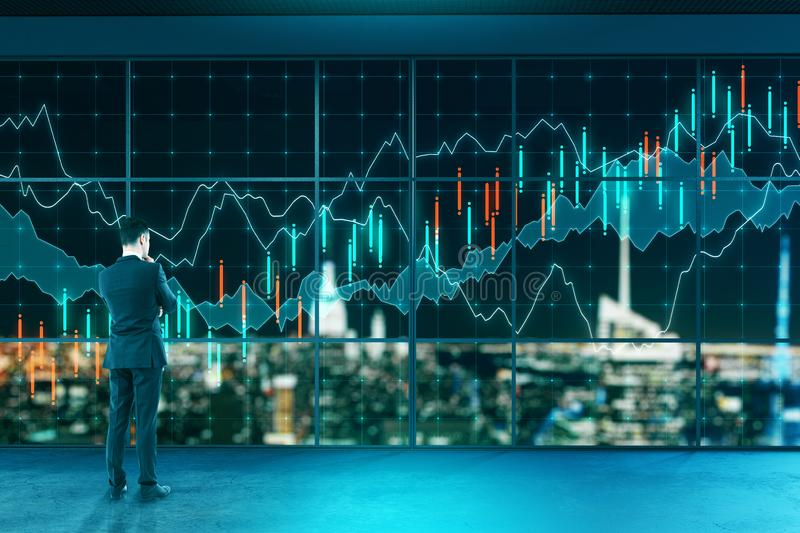 Innovation and finance concept stock photography