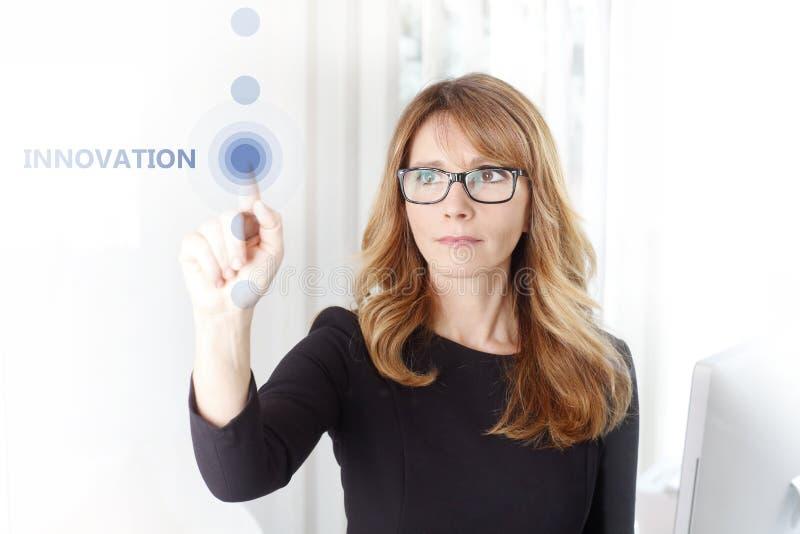 Innovation i din affär arkivfoton