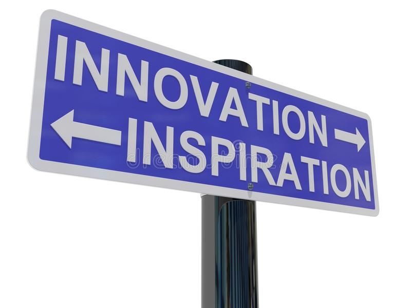 Innovation Inspiration royalty free illustration