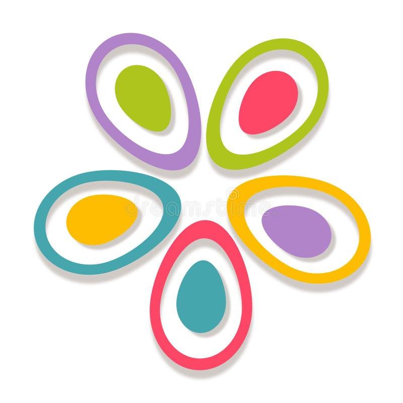 innovation Logo abstrait illustration stock