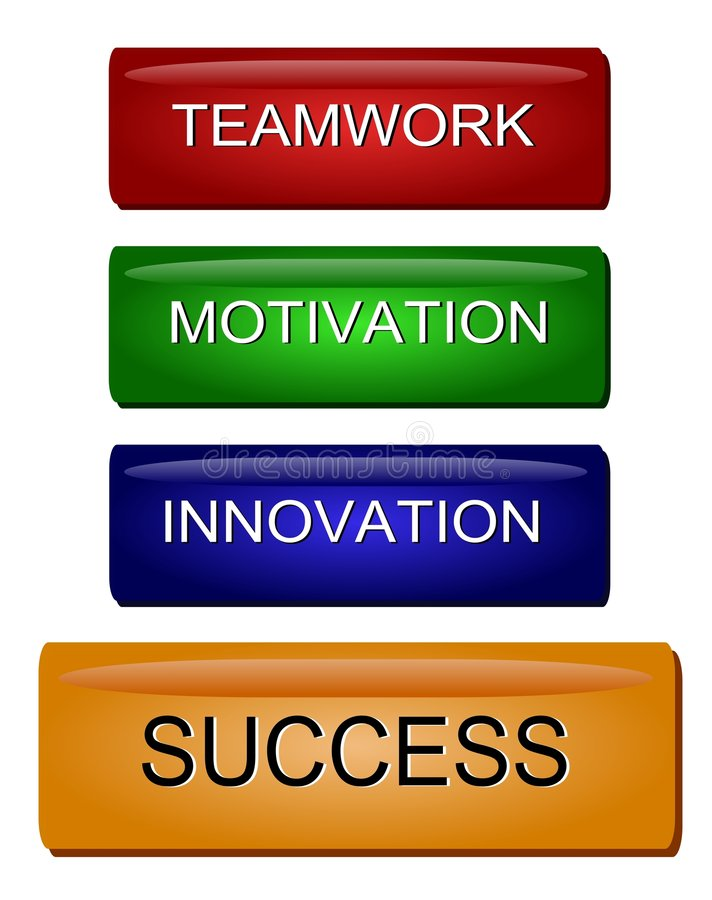 Innovation Motivation Success royalty free stock photos