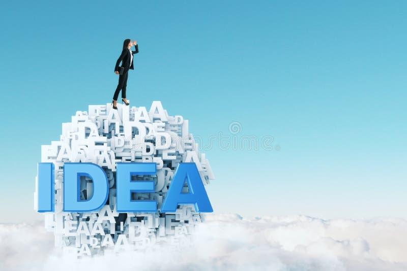 Innovation- och karriärbegrepp royaltyfri foto