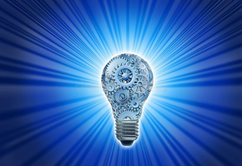 Innovation und Ideen lizenzfreie abbildung