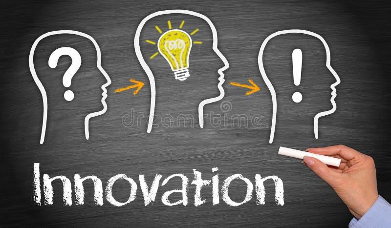 Innovationbegrepp  royaltyfria foton