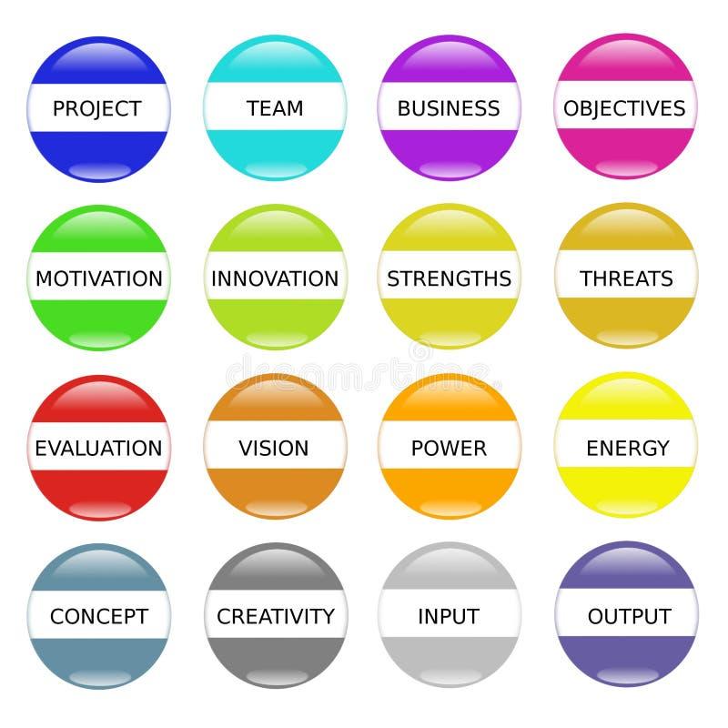 innovationmotivationframgång stock illustrationer