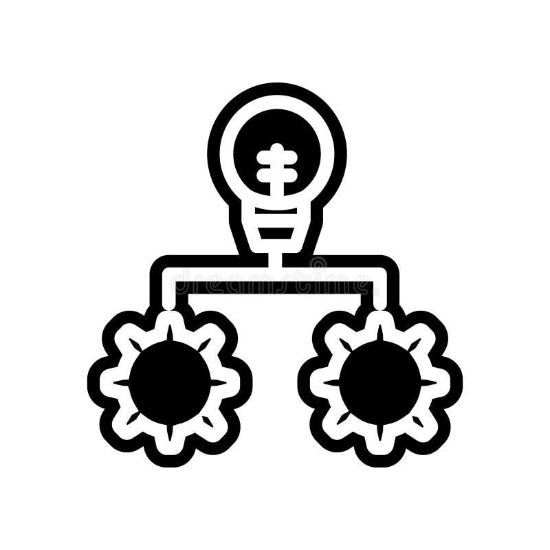 Innovations-Ikone Element der Finanzierung f?r bewegliches Konzept und Netz Appsikone Glyph, flache Ikone f?r Websiteentwurf und  vektor abbildung