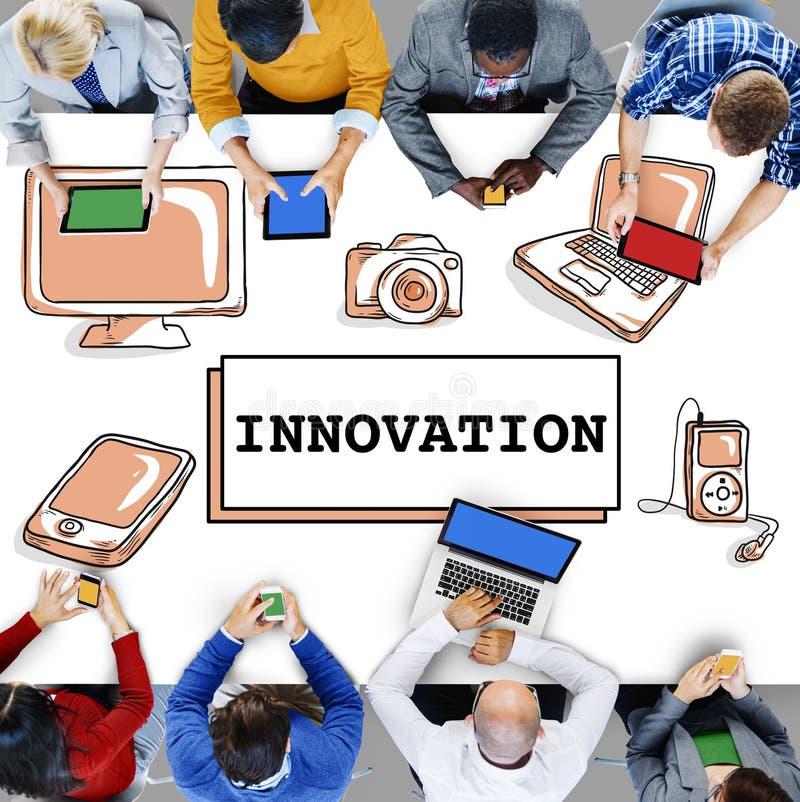 Innovations-Technologie ist kreatives futuristisches Konzept lizenzfreie stockfotografie
