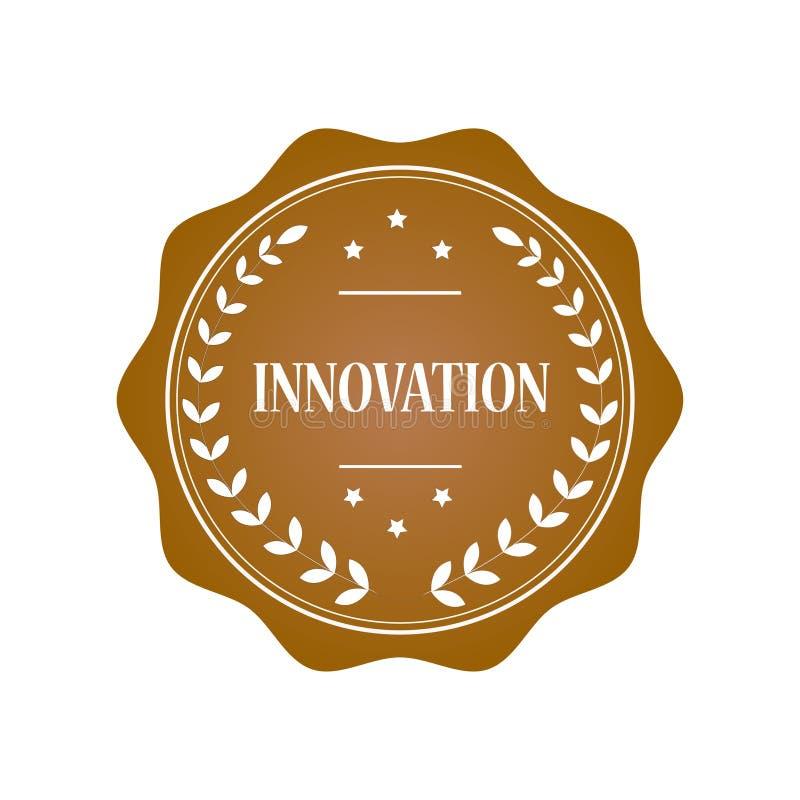 Innovationsstempelillustration stockfotografie