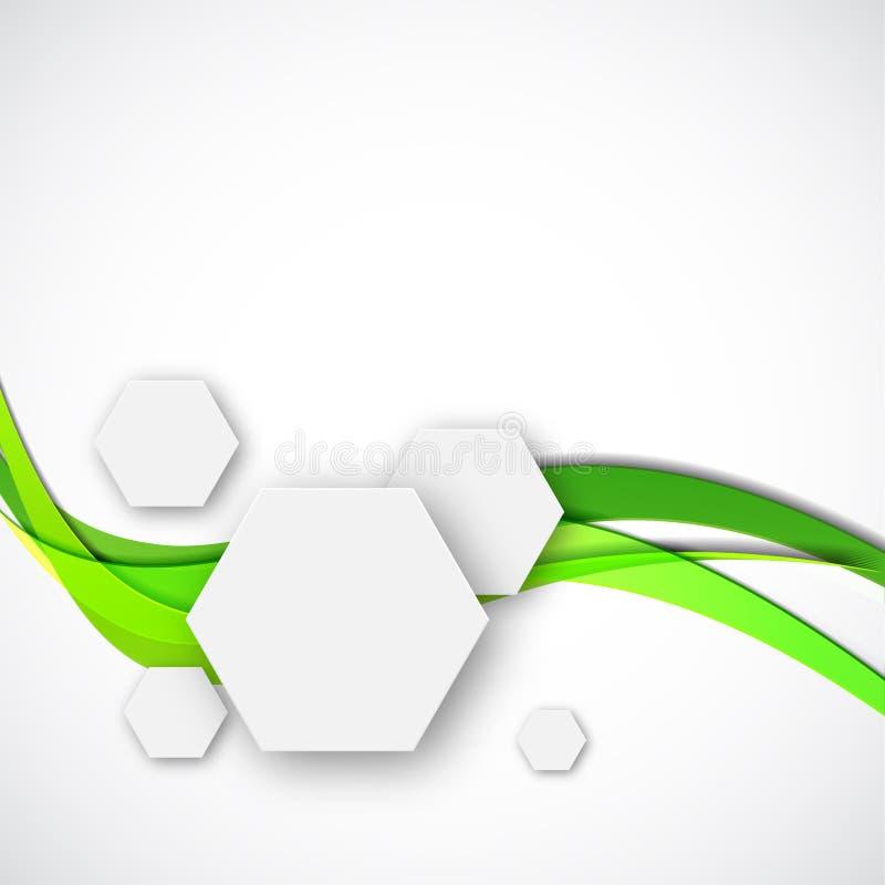 Innovativ forskning för vetenskaplig kemi vektor illustrationer