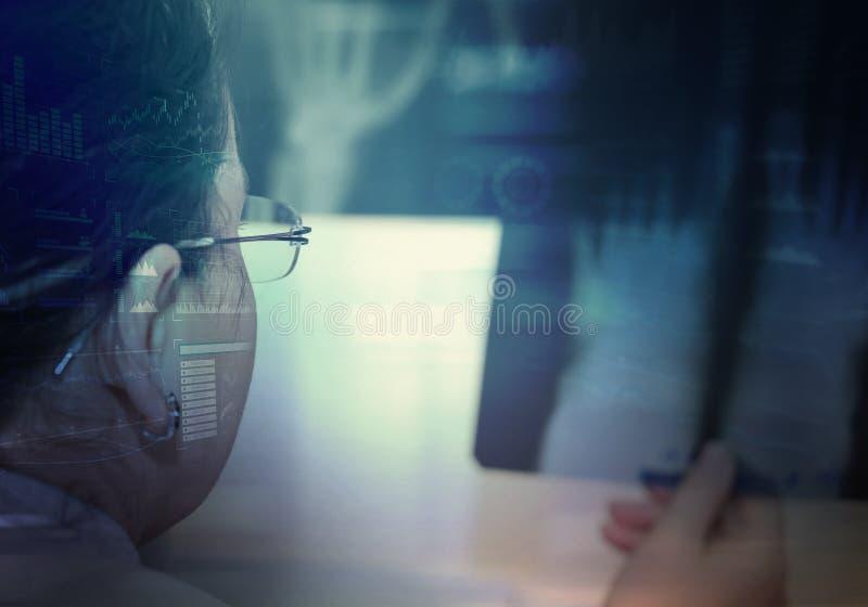 Innovativa teknologier i medicin royaltyfri foto