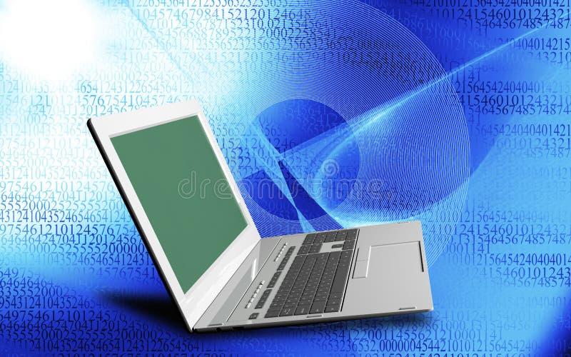 innovative Computer Internet-Technologien für Geschäft lizenzfreie abbildung