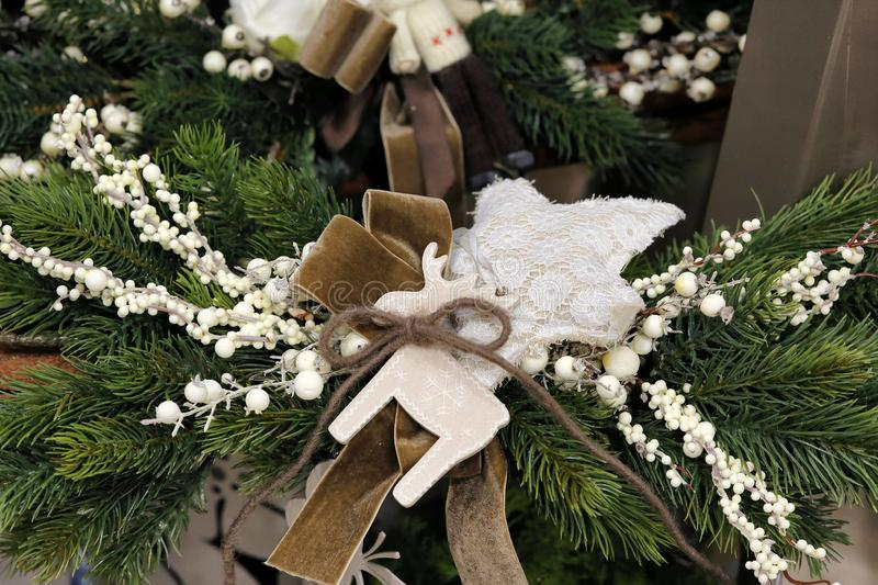 Innovative decorations for Christmas royalty free stock images