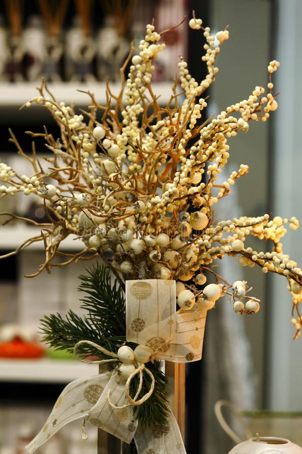 Innovative decorations for Christmas stock photography