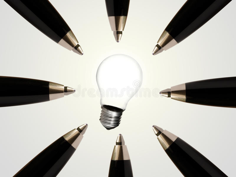 Download Innovative Idea For Success Stock Image - Image: 21430283