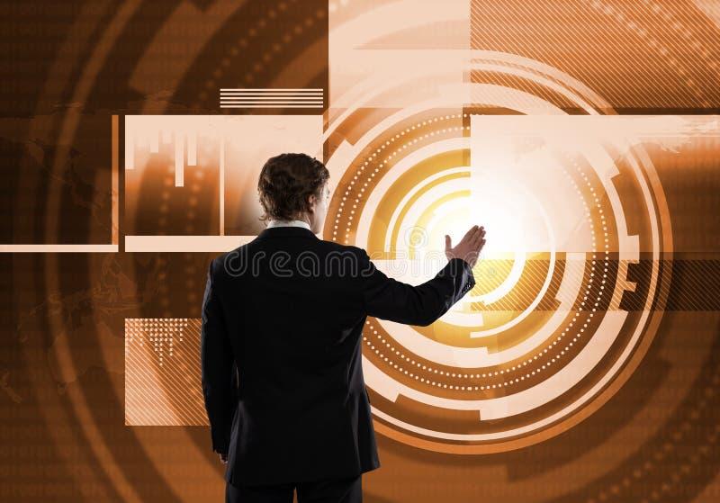 Innovative Medientechniken stockfoto
