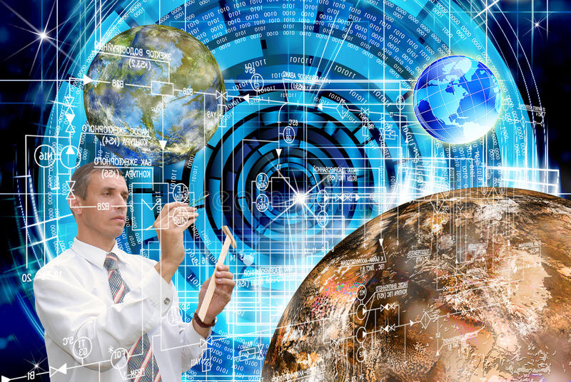 Download Innovative Space Research Royalty Free Stock Image - Image: 30351696
