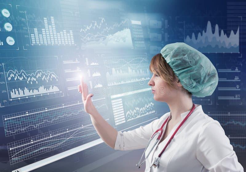 Innovative Technologien in der Wissenschaft und in der Medizin lizenzfreies stockfoto
