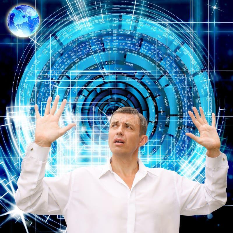 Innovatives Programmierungsinternet lizenzfreie stockbilder