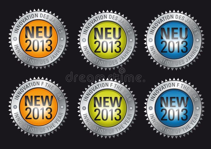 Innovazione dell'anno 2013 illustrazione vettoriale