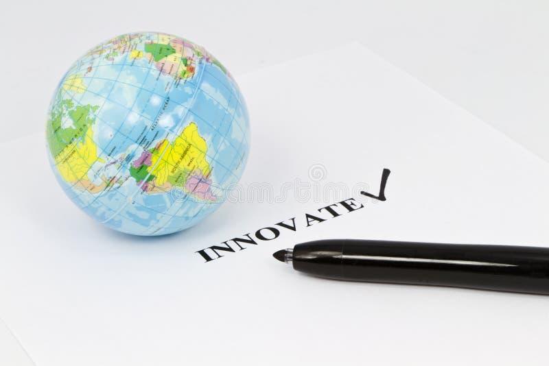 Innovazione globale fotografia stock