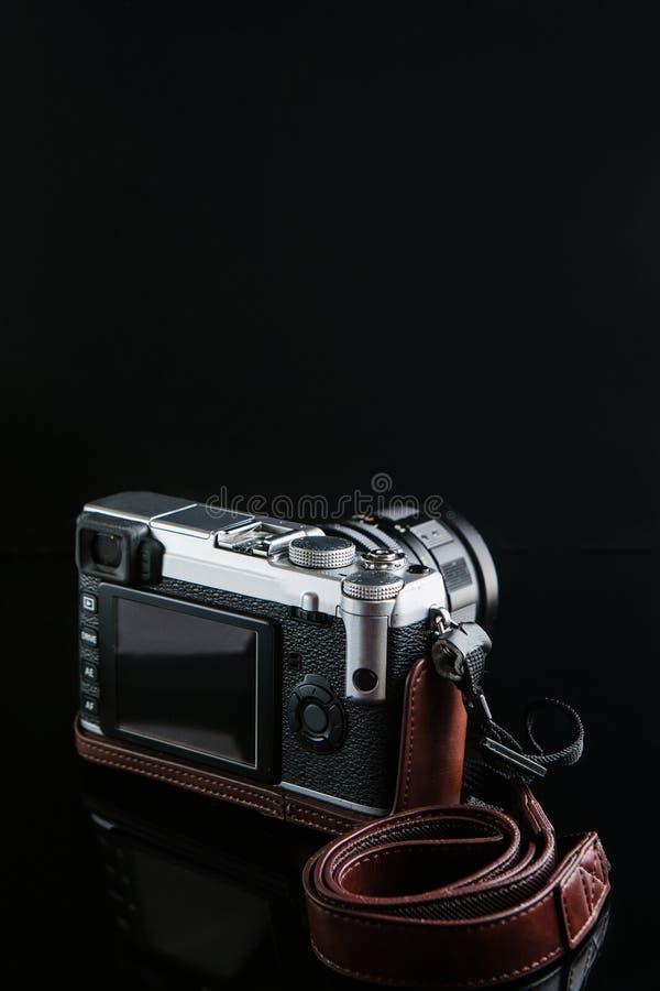 Innovazione moderna di tecnologia della macchina fotografica della foto immagine stock libera da diritti
