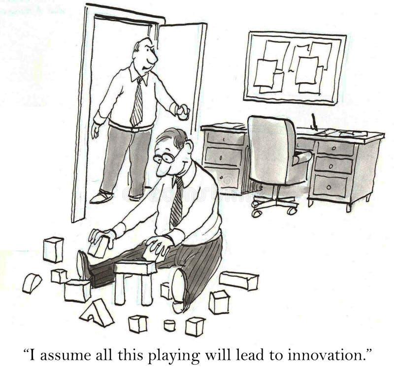 Innowacja royalty ilustracja