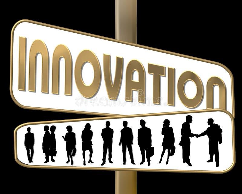 innowacje royalty ilustracja