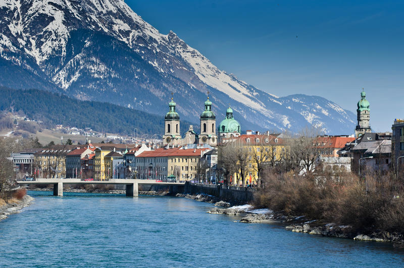 Innsbruck Áustria fotografia de stock