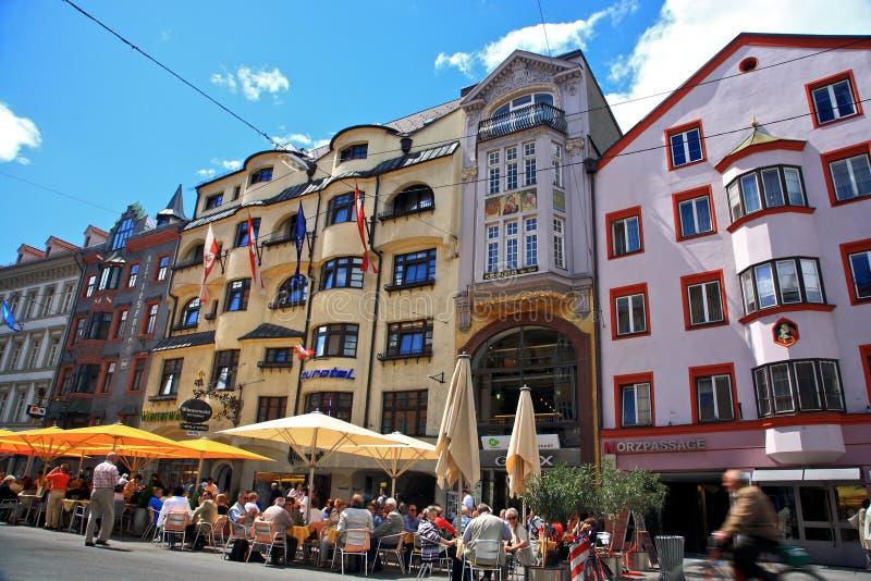 Innsbruck fotografía de archivo