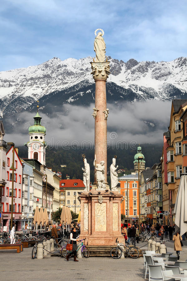 Innsbruck, Austria royalty free stock photo