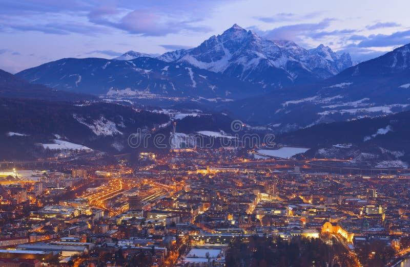 Innsbruck Austria foto de archivo