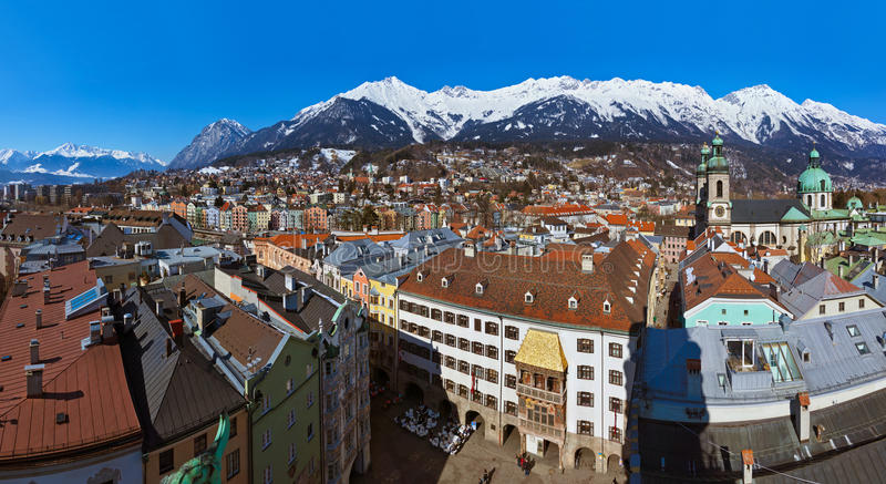 Innsbruck Austria imagenes de archivo