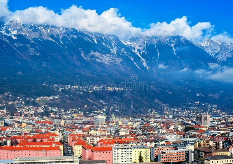 Innsbruck, Austria fotografía de archivo