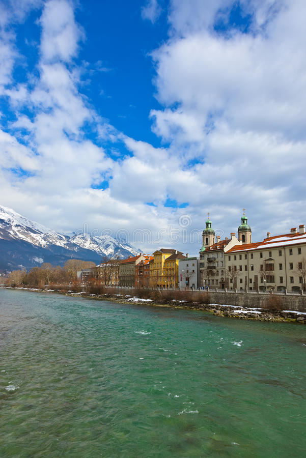 Download Innsbruck Austria stock photo. Image of innsbruck, colorful - 33568216