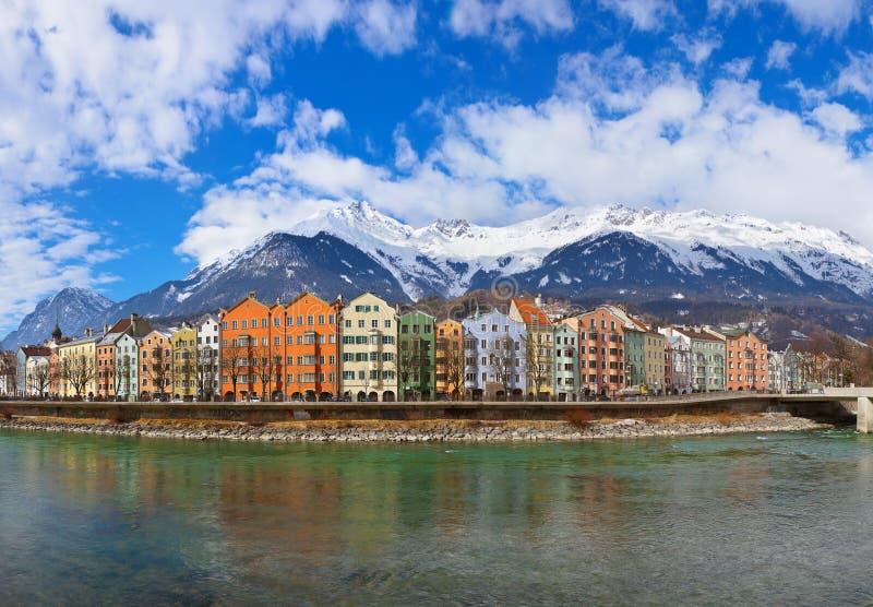 Innsbruck Austria stock image