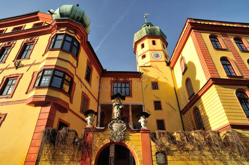 Download Innsbruck. Castle Buchsenhausen Facade Editorial Photo - Image: 26086291