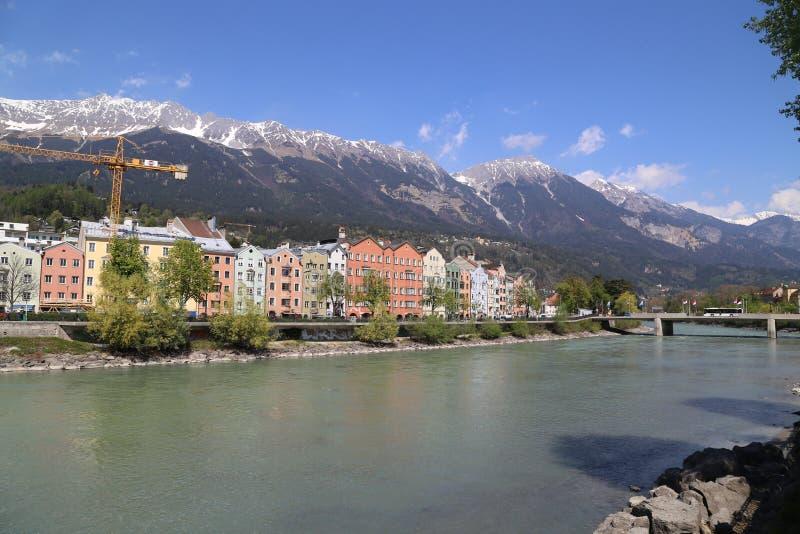 Innsbruck em Áustria imagem de stock royalty free