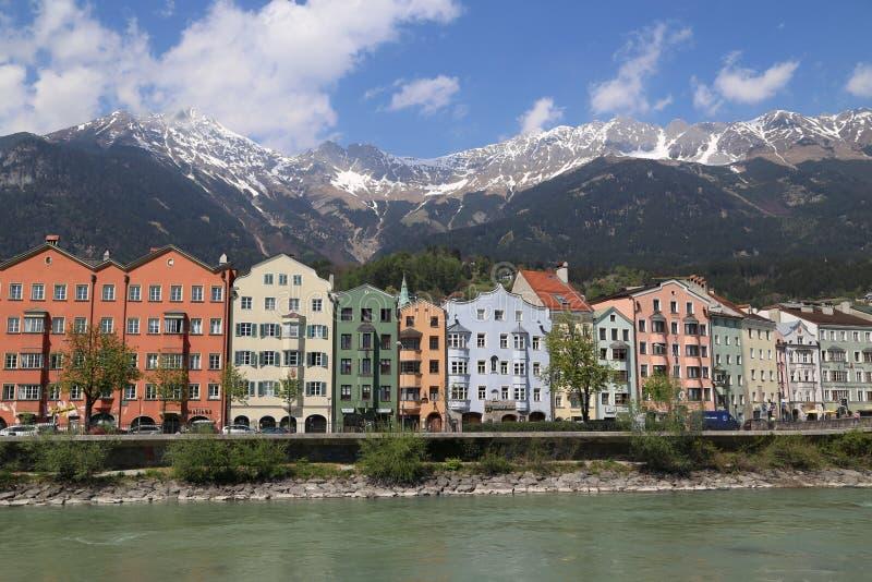 Innsbruck em Áustria imagens de stock royalty free